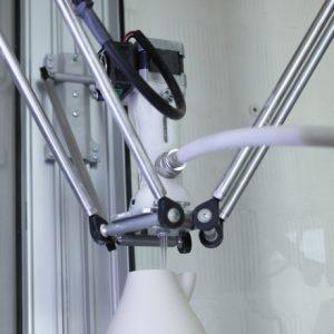 Accessori stampanti 3D serie DELTA estrusore argilla kit 2.0