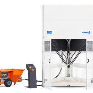 Delta Wasp 3MT Concrete per la stampa 3d di laterizi in cemento, argilla e ceramica
