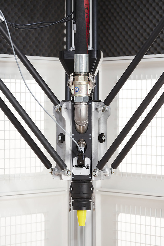 Estrusore a vite per stampante Delta Wasp 3MT Concrete