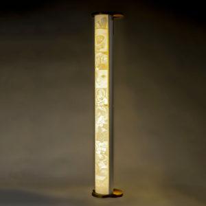 lampada personalizzabile 3d